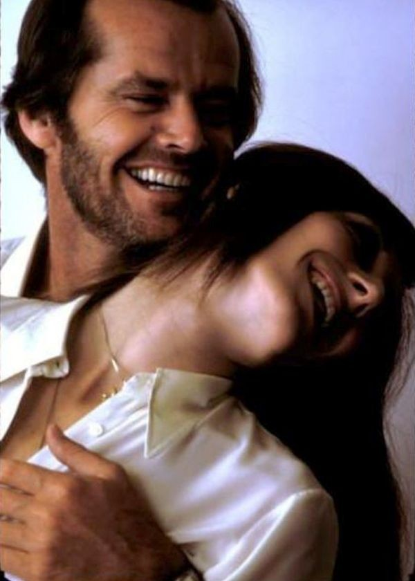 Jack Nicholson with Anjelica Huston