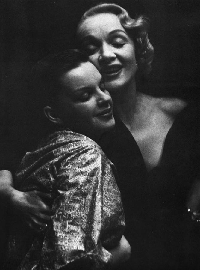 Judy Garland & Marlene Dietrich 1951