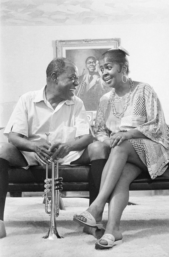 Louis and Lucille Armstrong