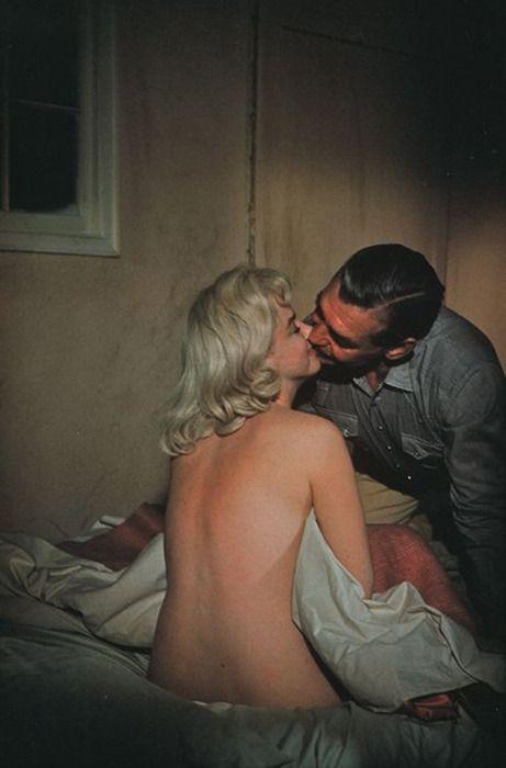 Marilyn Monroe & Clark Gable