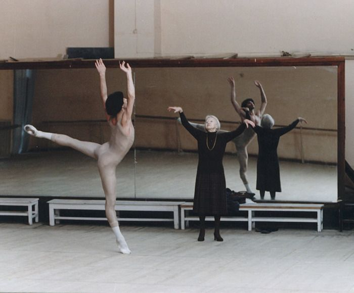 Nikolai Tsiskaridze trained by Galina Ulanova