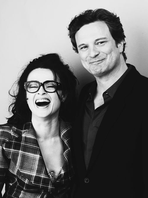 Helena Bonham Carter and Colin Firth