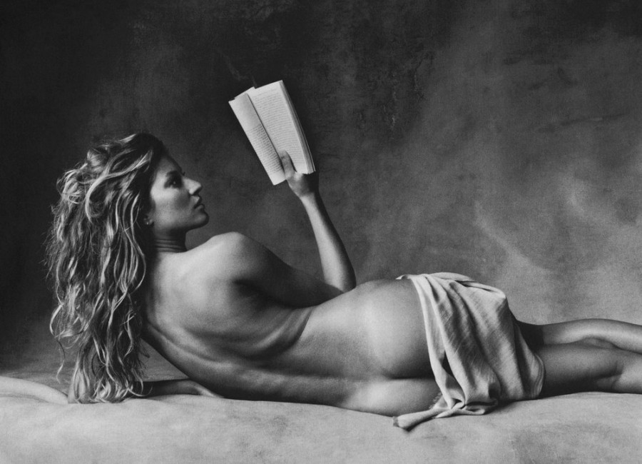 Gisele Bundchen by Irving Penn