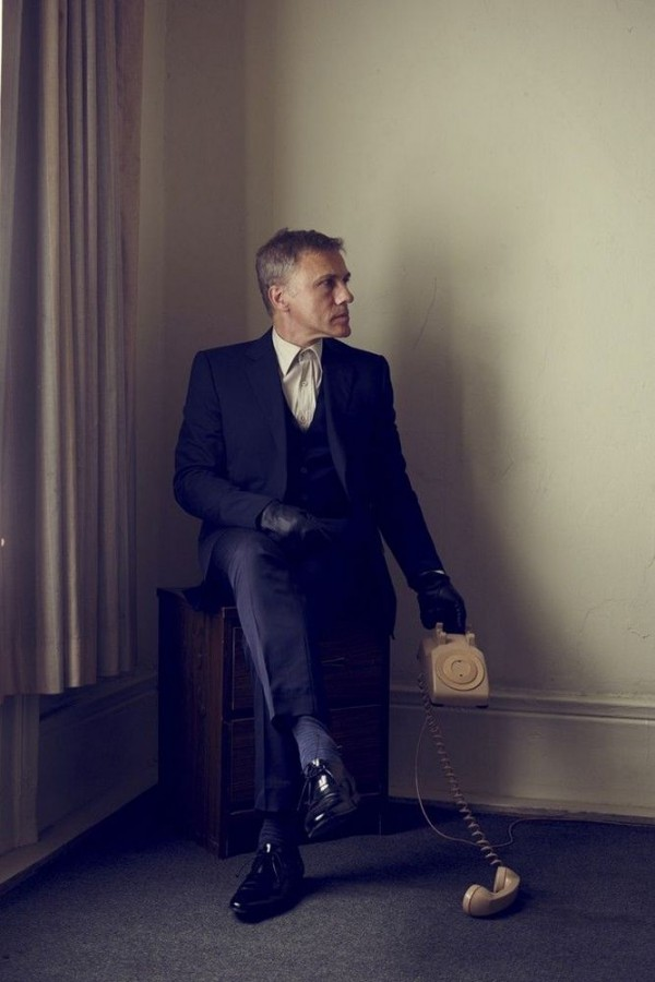 Christoph Waltz by Brian Bowen Smith
