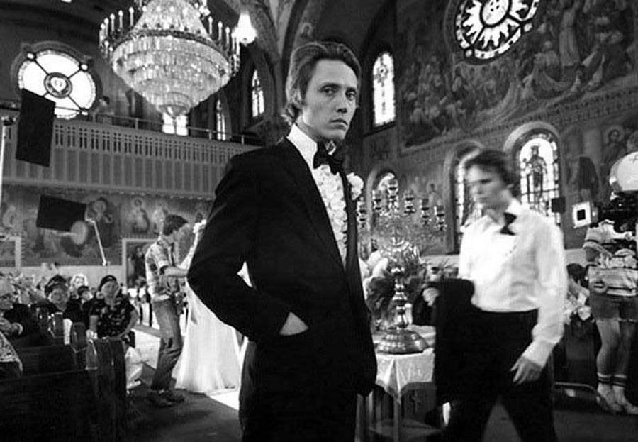 Christopher Walken on the set of The Deer Hunter