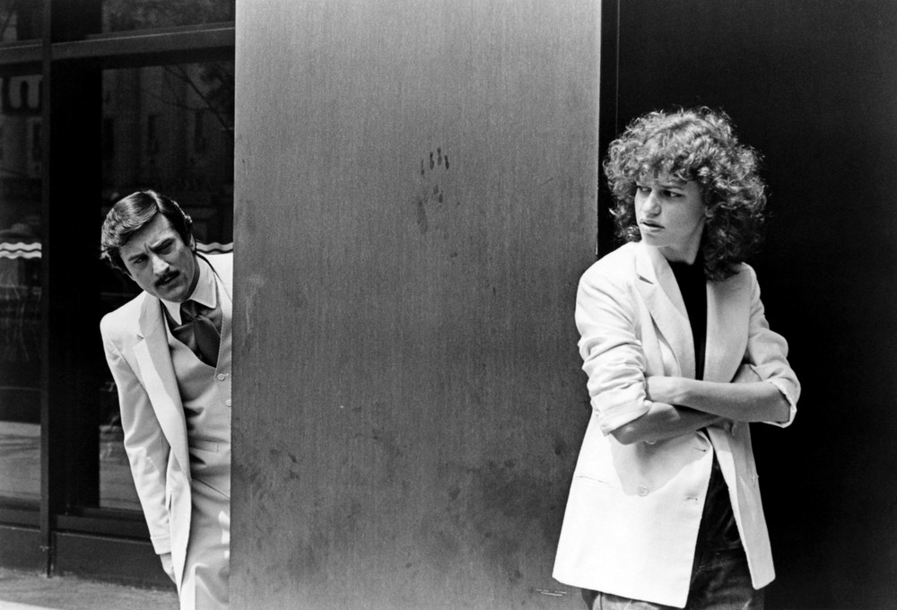Robert De Niro and Sandra Bernhard in The King of Comedy from Martin Scorsese