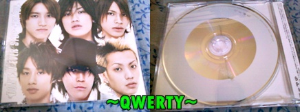 Front > Back :) KAT-TUN Don't U Ever Stop RE --- $8