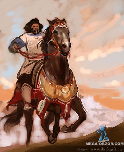 Картинки батыров с конем