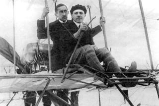 первый профессиональный летчик Российской империи Михаил Ефимов