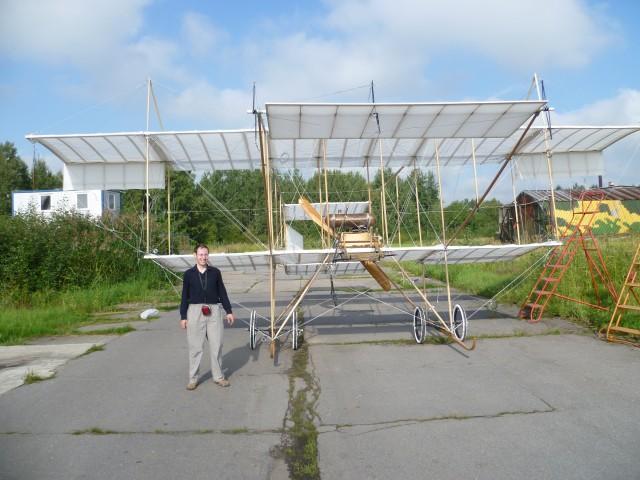 Airplane, «Farman-4». Legendary Henri Farman's historic airplane