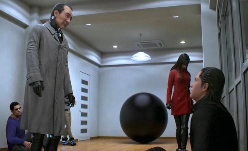 Кадр из аниме «Ганц: О – Миссия Осака/Gantz: O»