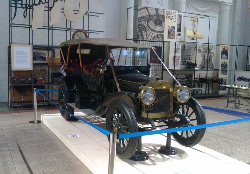 """Этот красавец """"Руссо-Балт"""" (модель К12-20, 1911 года) сохранился в единственном экземпляре"""