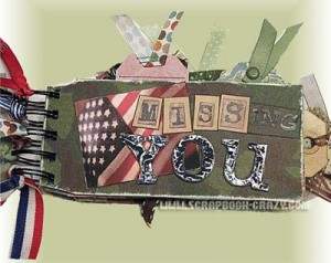 military-scrapbooking