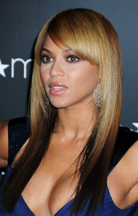 Beyonce-Knowles-Light-to-Dark-Ombre-Hair