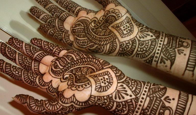 latest arabic mehendi bridal desings (12)