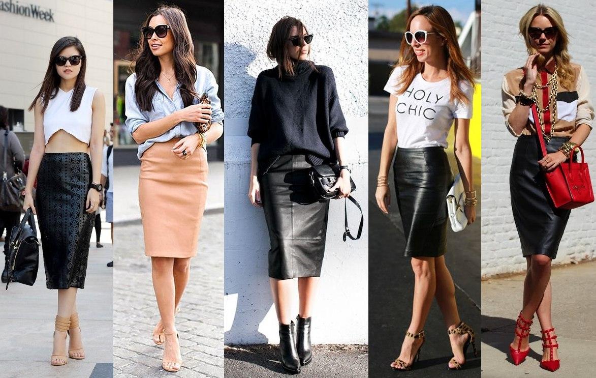 Модные образы с юбками 2017