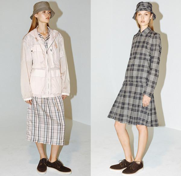 duckie-brown-new-york-fashion-week-2015-spring-summer-womens-slouchy-normcore-silk-plaid-coat-shorts-anorak-drawstring-bucket-hat-skirt-metallic-03x
