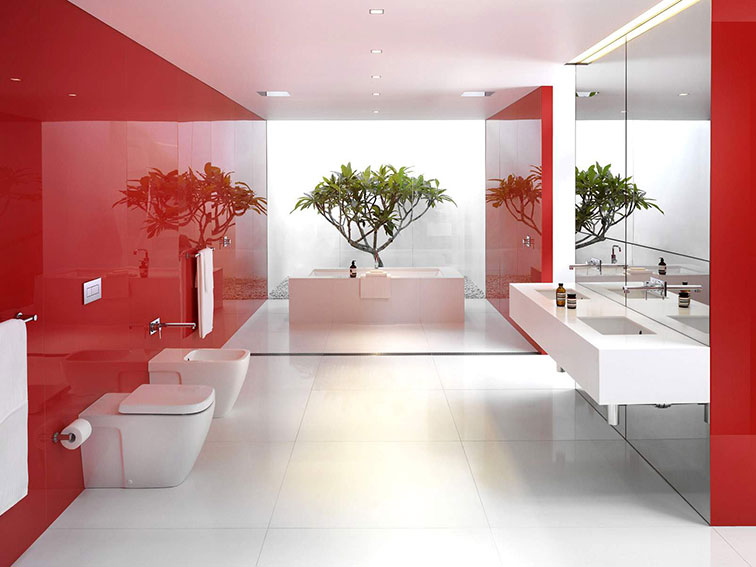 DZGN-Red-and-White-Bathroom-Interior