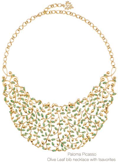 tiffany_and_co_paloma_picasso_olive_leaf_collection_2_paloma_picasso_olive_leaf_bib_necklace_with_tsavorites