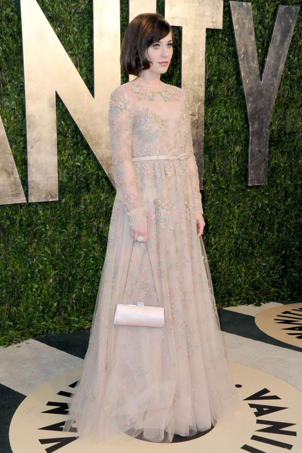 beautiful-dress-Zooey-Deschanel