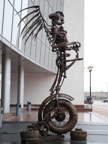 владимир, скульптура, дети