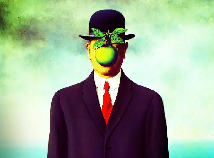 Киногерои глазами художника-сюрреалиста Рене Магритта