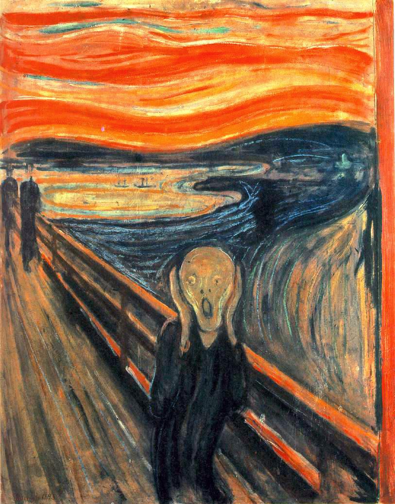 «Крик»: от полотна до фильма ужасов