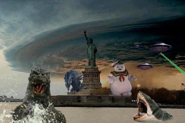 ураган, Сэнди, sandy, фотожаба