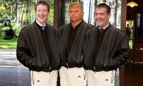 Марк Цукерберг, москва, юмор, медведев, свидетель из фрязино
