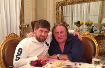 Рамзан Кадыров и Жерар Депардье