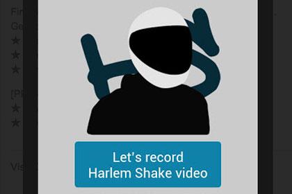 Android, Harlem Shake, приложение