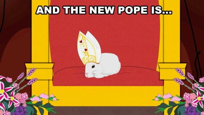 прикол, папа римский, выборы, италия, религия