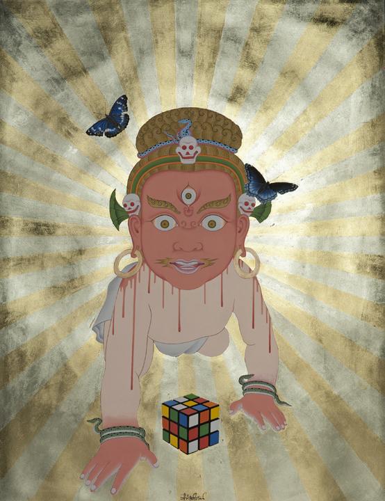 Тшерин Шерпа, картина