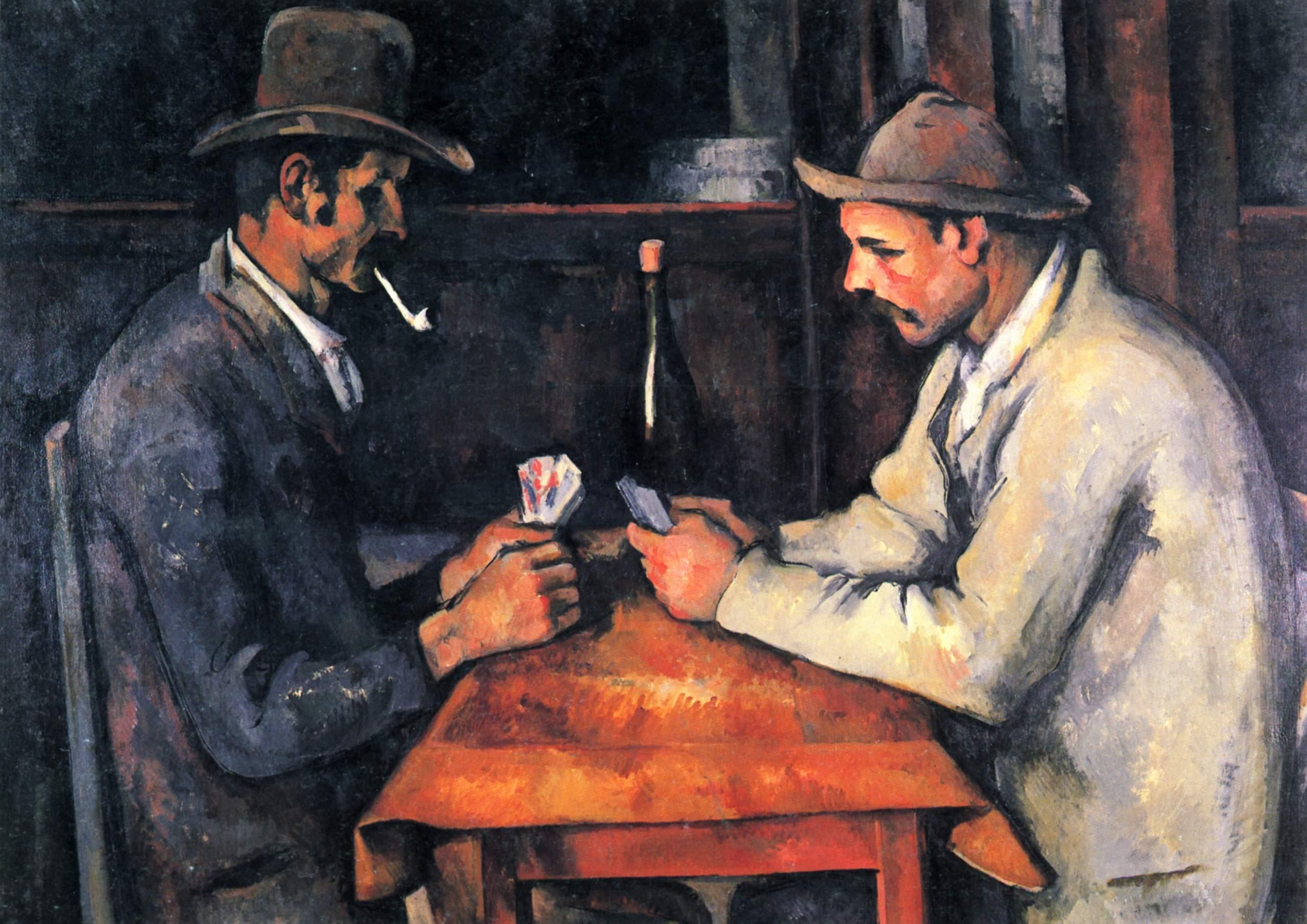 Поль Сезанн, Игроки в карты