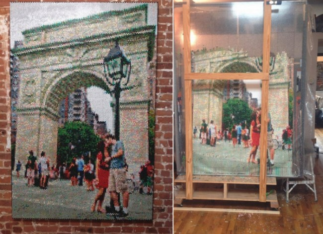 искусство, живопись, Брэдли Харт, воздушные пузырьки