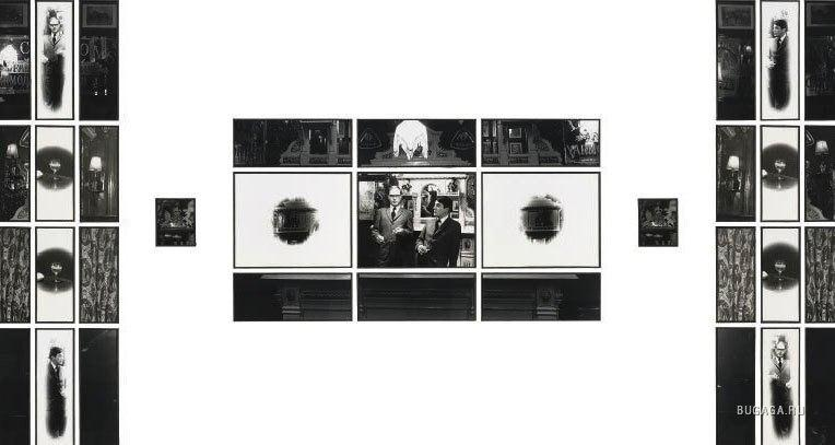 Гилберт и Джордж, Для Её Величества, коллаж из фотографий, Gilbert & George, To Her Majesty