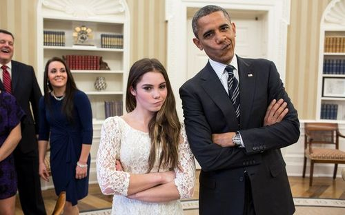 МакКайла Марони, Барак Обама