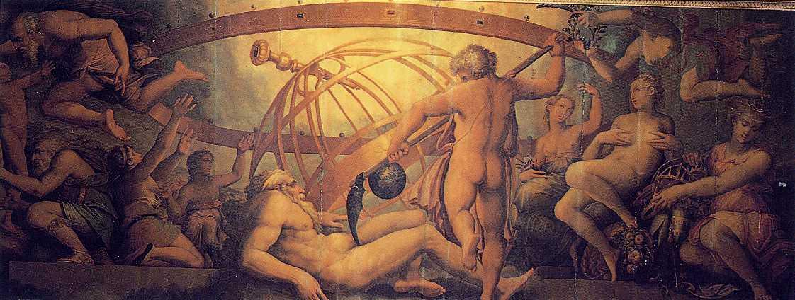 Джорджо Вазари, Жерарди Христофано, «Оскопление Урана Кроном»