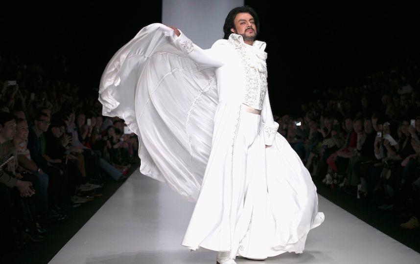 Филипп Киркоров в свадебном платье