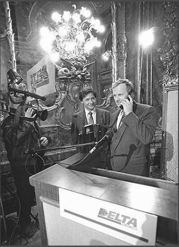 первый телефон в россии, Анатолий Собчак