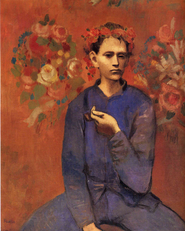 Пабло Пикассо, Мальчик с трубкой