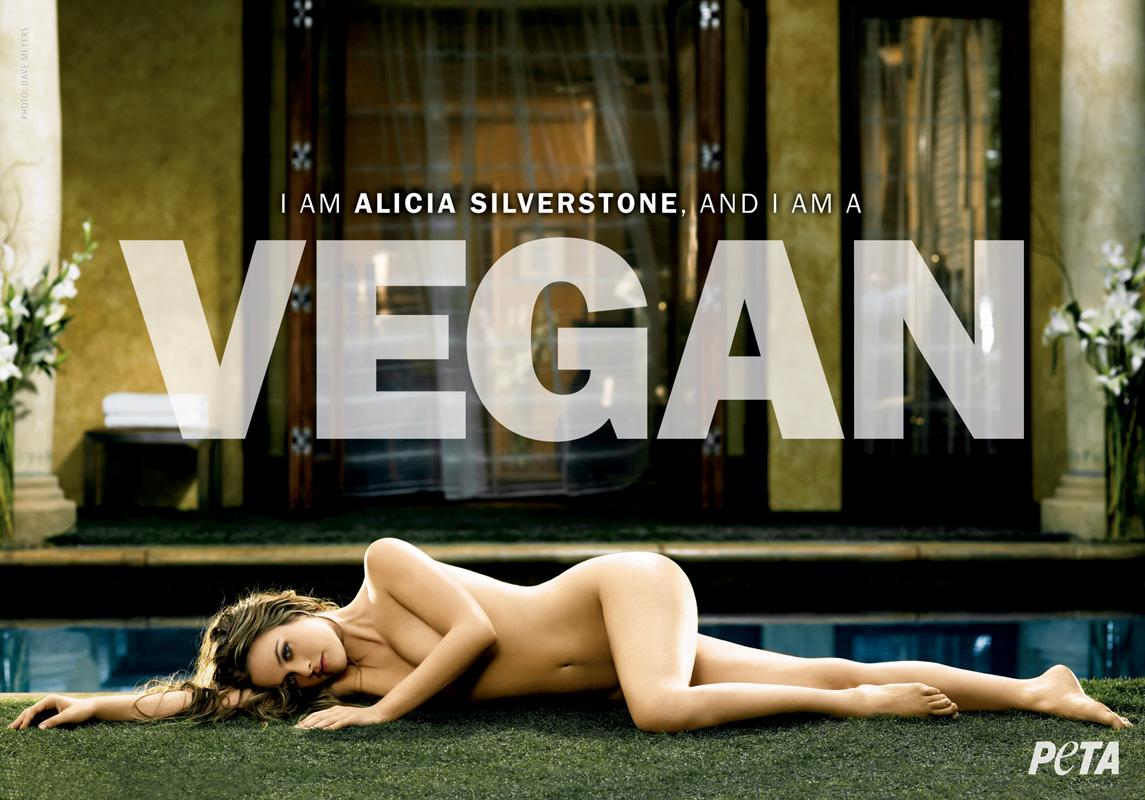Алисия Сильверстоун, вегетарианство