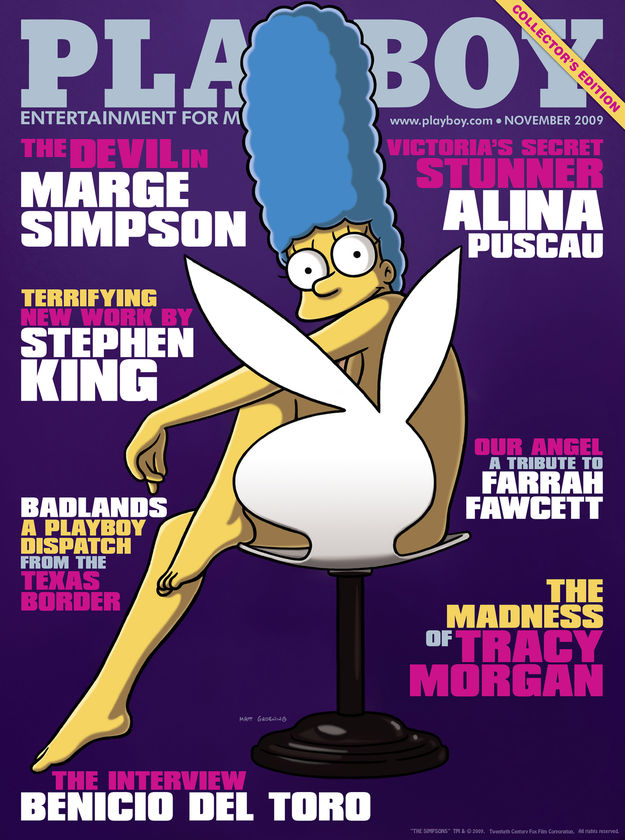 playboy simpsons