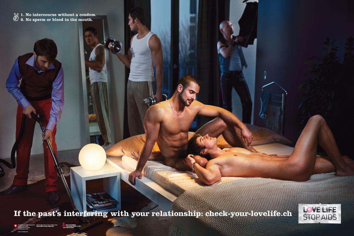 презерватив, гей, спид, реклама
