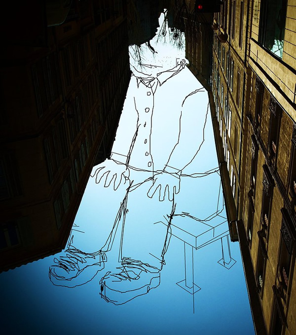 Томас Ламадье, искусство, стрит-арт, sky art, roof art