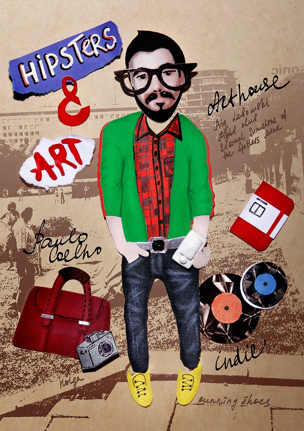 hipsters, хипстеры, плакат