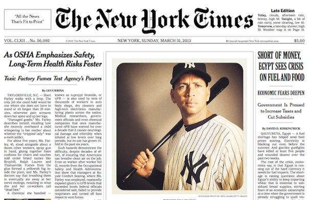 new york times, instagram, NYT, ник лахэм
