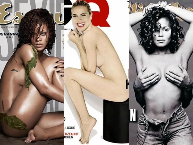 Сексуальные журнальные обложки