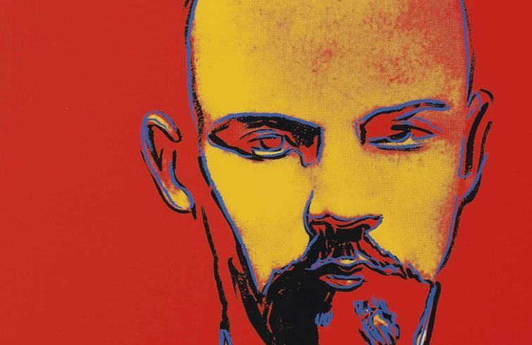 Ленин, искусство, Уорхол