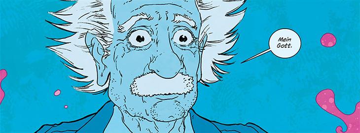 Эйнштейн, comics, the manhattan projects